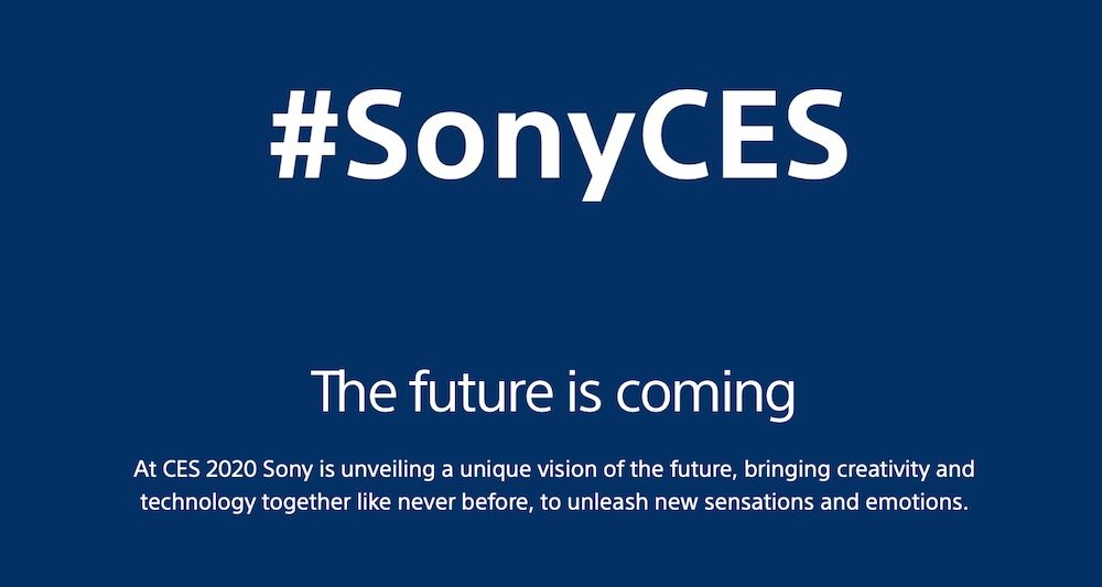 Sony CES playstation 5