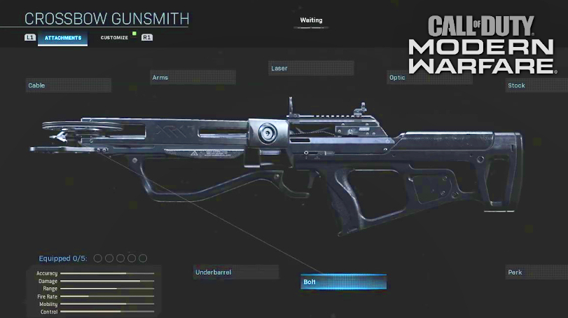 Call Of Duty Modern Warfare How To Get The New Crossbow Fixed
