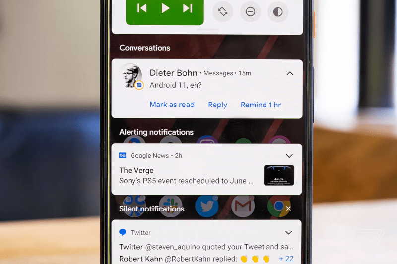 Android 11 Notifications