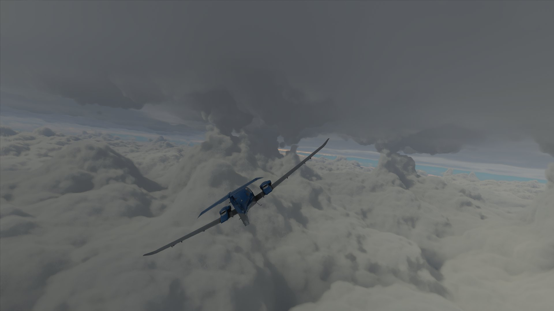 Flight Simulator Hurricane Laura