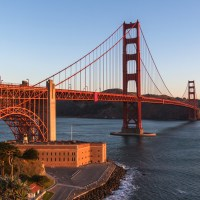 Golden Gate Bridge Facts for Kids - Second Longest Suspension Bridge