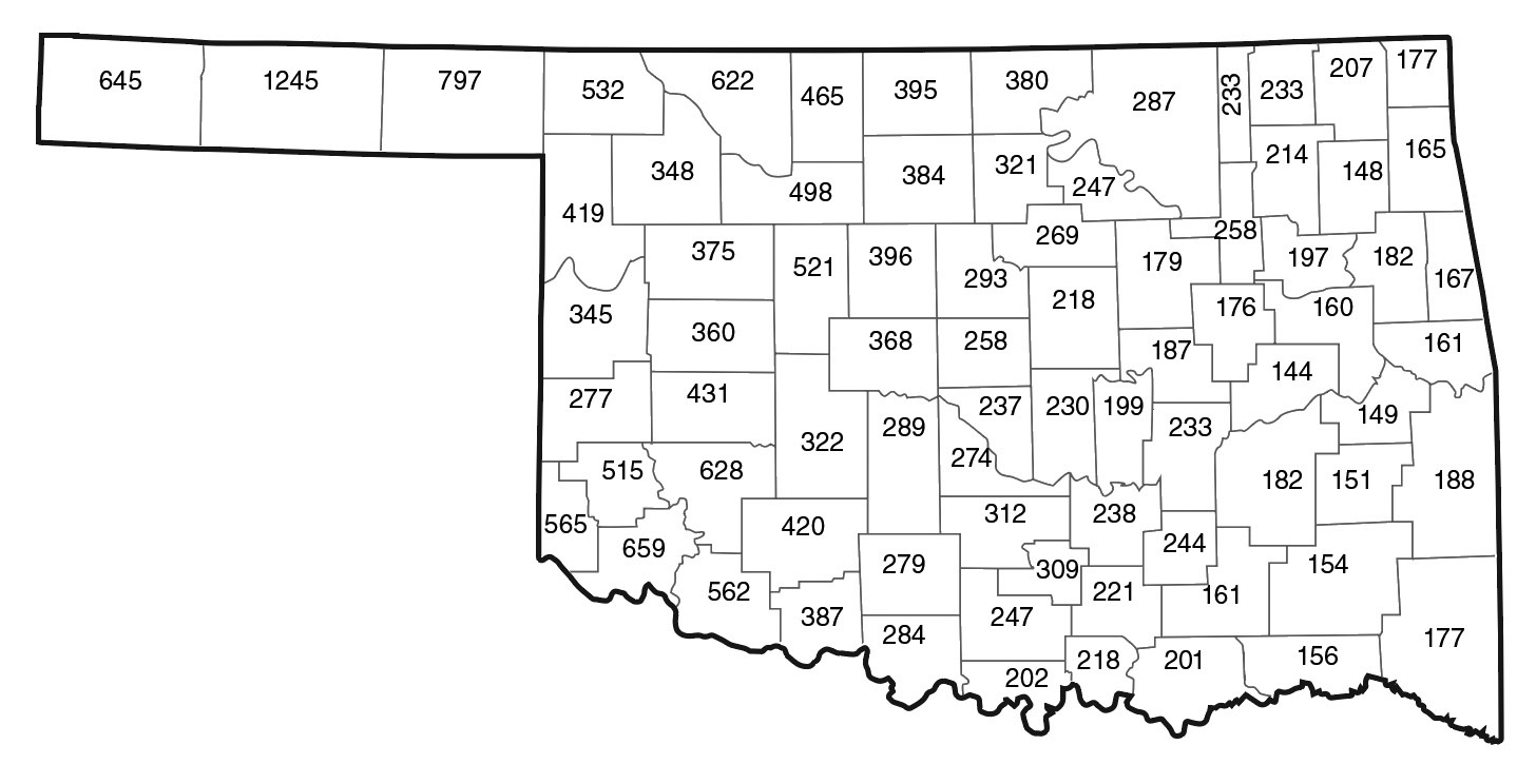 CR-2283 Oklahoma Agricultural Soil Test Summary 2014-2017