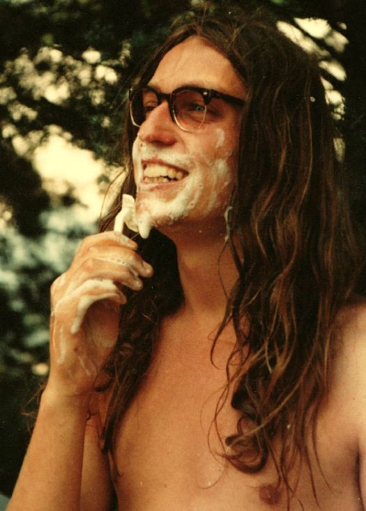 John with long hair