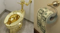 Gold Plated Toilet Paper & Copper Toilet Paper Holder Free ...