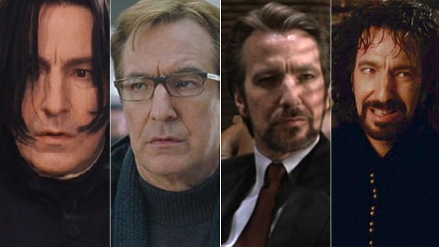 Alan rickman best english actor