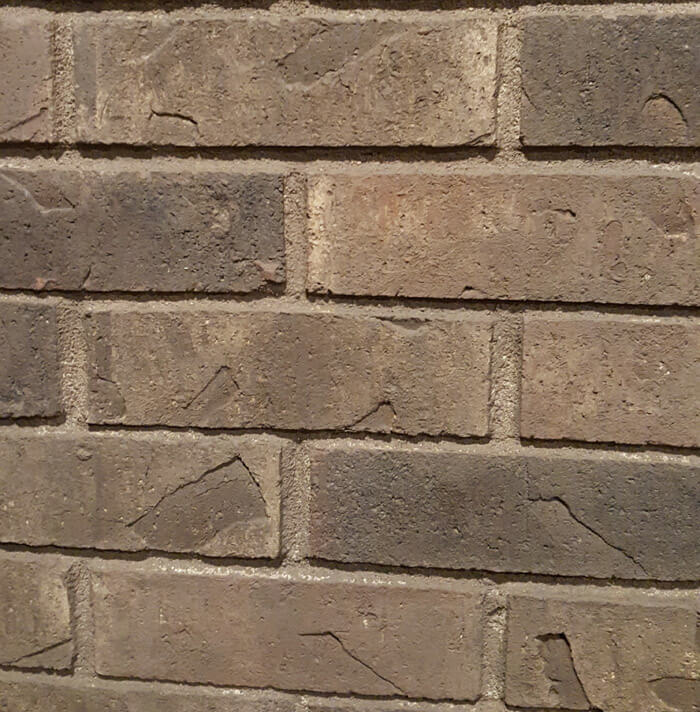 How to Gray Wash Brick Fireplace  Color Washing Brick