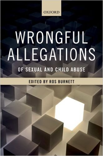 Cover of Wrongful Allegations of Sexual and Child Abuse