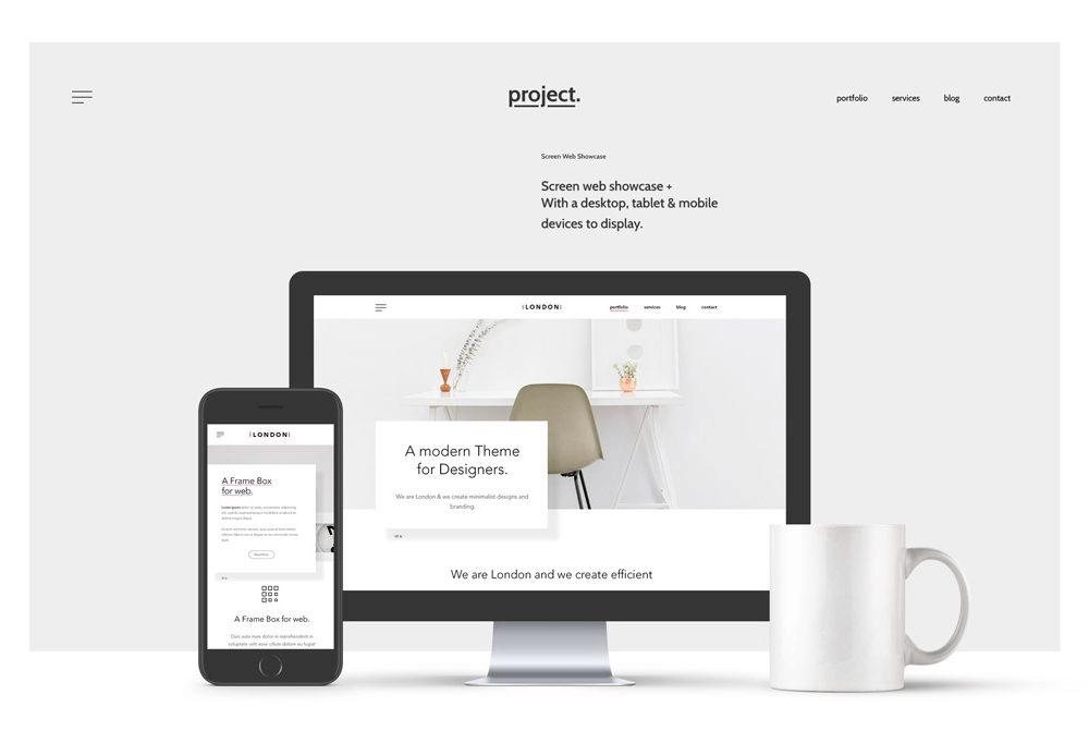 15 plantillas para mostrar tus diseños web responsives - Facturación Web