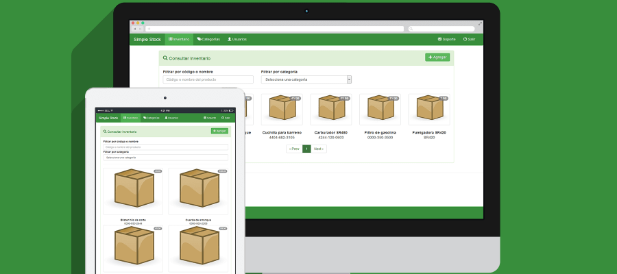 Sistema de inventario desarrollado con PHP y MySQL - Facturación Web