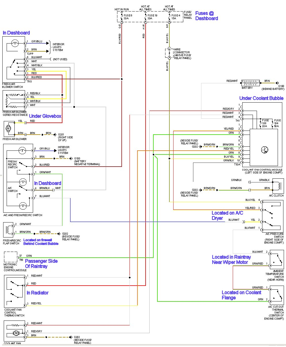 medium resolution of vw ac wiring wiring diagram official ac wiring vw 2001