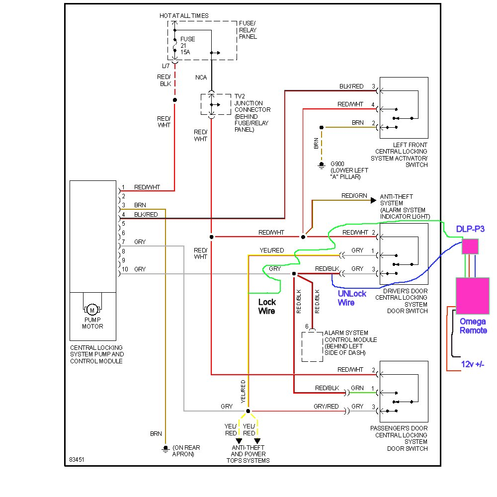 fantastic autoloc door popper wiring diagram collection electrical rh suaiphone org 3-Way Switch Wiring Diagram Schematic Circuit Diagram