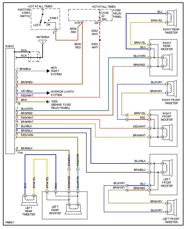 mitsubishi mirage stereo wiring diagram briggs and stratton lawn mower engine parts packard radio