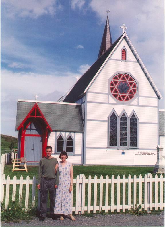 Anglican Church in Trinity Newfoundland