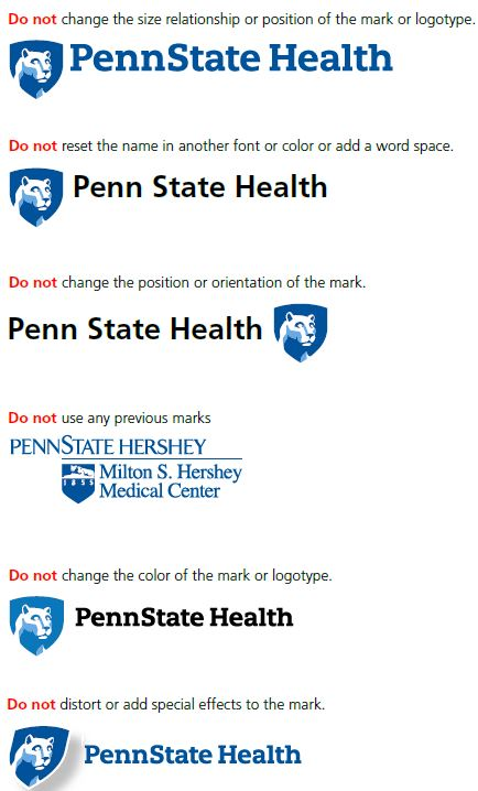 Penn State Health Portal : state, health, portal, State, Health, College, Medicine, Visual, Identity, Standards, Writing, Style, Guide, Faculty, Staff