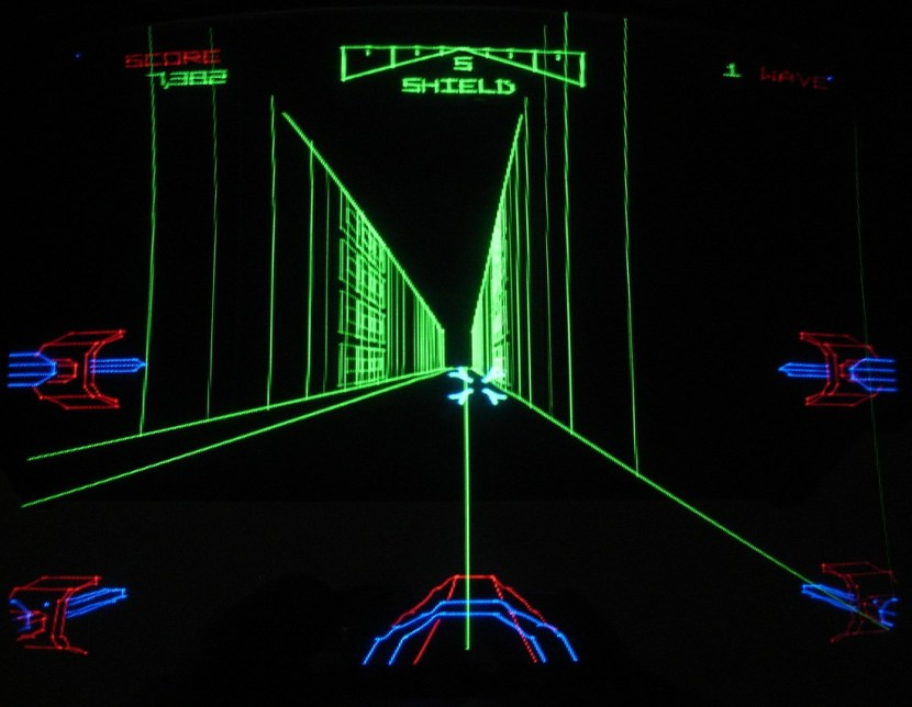 Star Wars arcade game screenshot x-wing