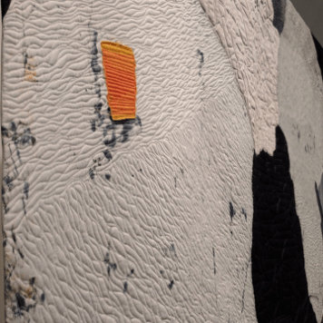 The Contact: Inside Granite (2015), detail.