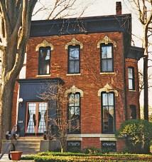Brick Italianate Victorian House Colors