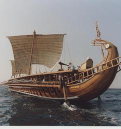description of greek war ship the trireme [ 1232 x 912 Pixel ]
