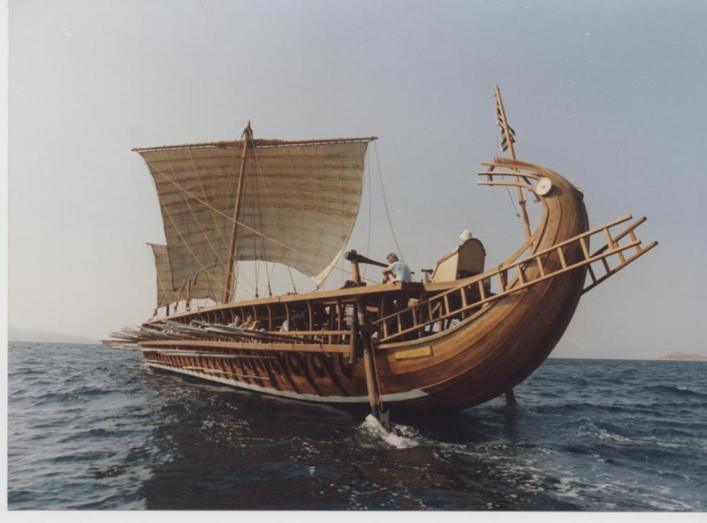 medium resolution of description of greek war ship the trireme