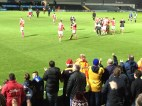 Celebrations after the game