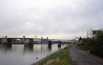 Morrison Bridge. April 1980