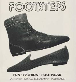 1988 Footsteps ad.