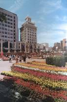 1988. Pioneer Courthouse Square before Fox Tower cast it's long shadow.
