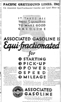 Equi-fractionated! Rolls off the tounge. Well played, Associated Gasoline.