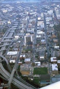 PSU downtown Portland, 1980