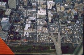 Downtown Portland, 1980. Morrison Bridgehead