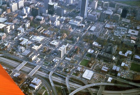 HWY 26 and PSU downtown Portland, 1980