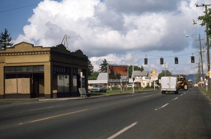 Powell Blvd, Portland, OR. 1977