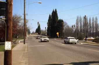 SE Bybee at 23rd. Portland, 1977