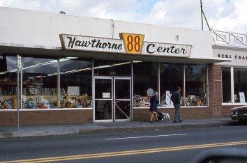 Future site of Powells Hawthorne, 3747 SE Hawthorne Blvd, Portland, OR. 1975