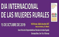 FADEMUR no Día Internacional da Muller Rural en Madrid