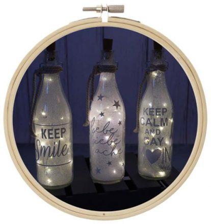 LED Flaschen
