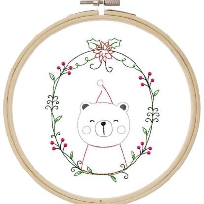 Weihnachtsbär Doodle