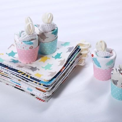 Waschlappen nähen Kinder Baumwollstoff Baumwolle Muster Frottee Muffin Baumwollwaschlappen Fahrzeuge Paket