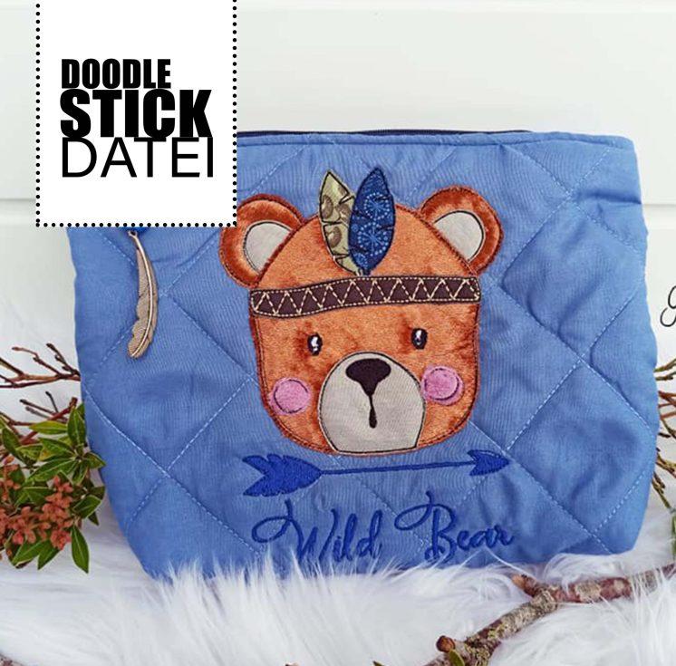 Wild Bear Stick Doodle