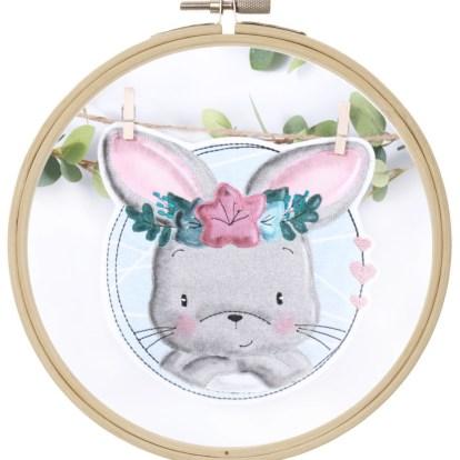 CuteRabbit Doodle Stickdatei