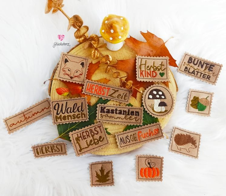 Herbst Stick Labels