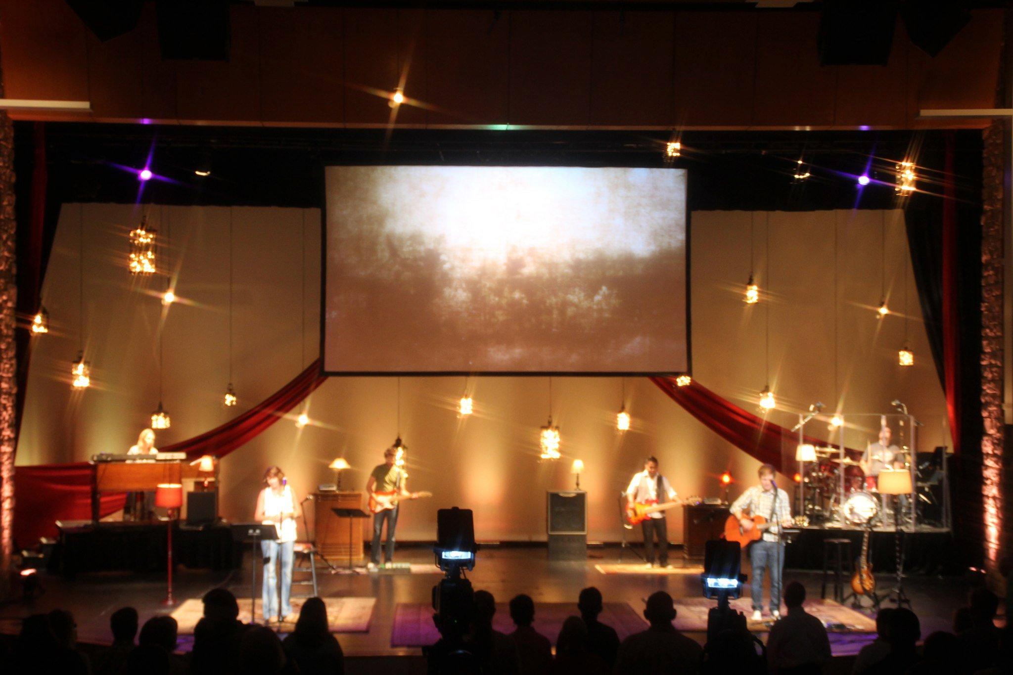 New Worship Center Stage Design  FaderFodder
