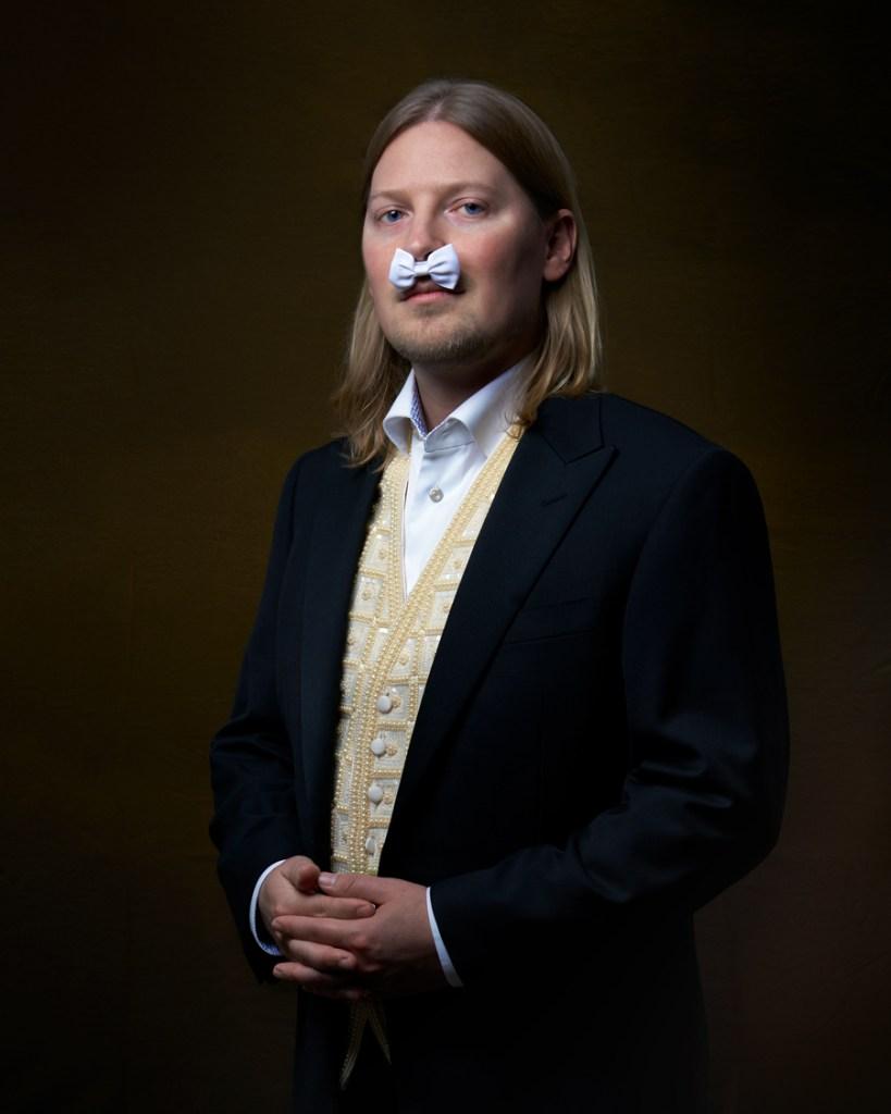 man in formal wear with bowtie