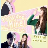 [OneShot] You Are Mine,Kim Jongin