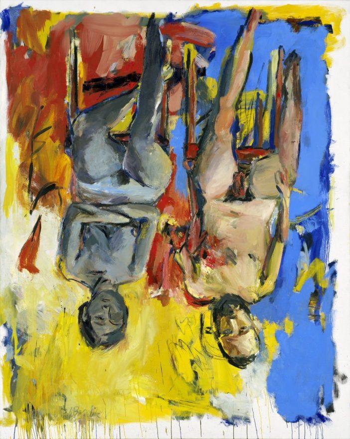 Georg Baselitz, Schlafzimmer (Bedroom), 1975