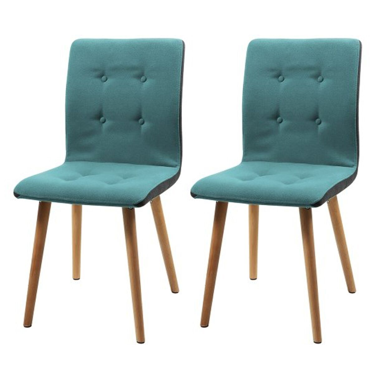 Teal Kitchen Chairs Frida Fabric Teal Dining Chairs Free Delivery Dining