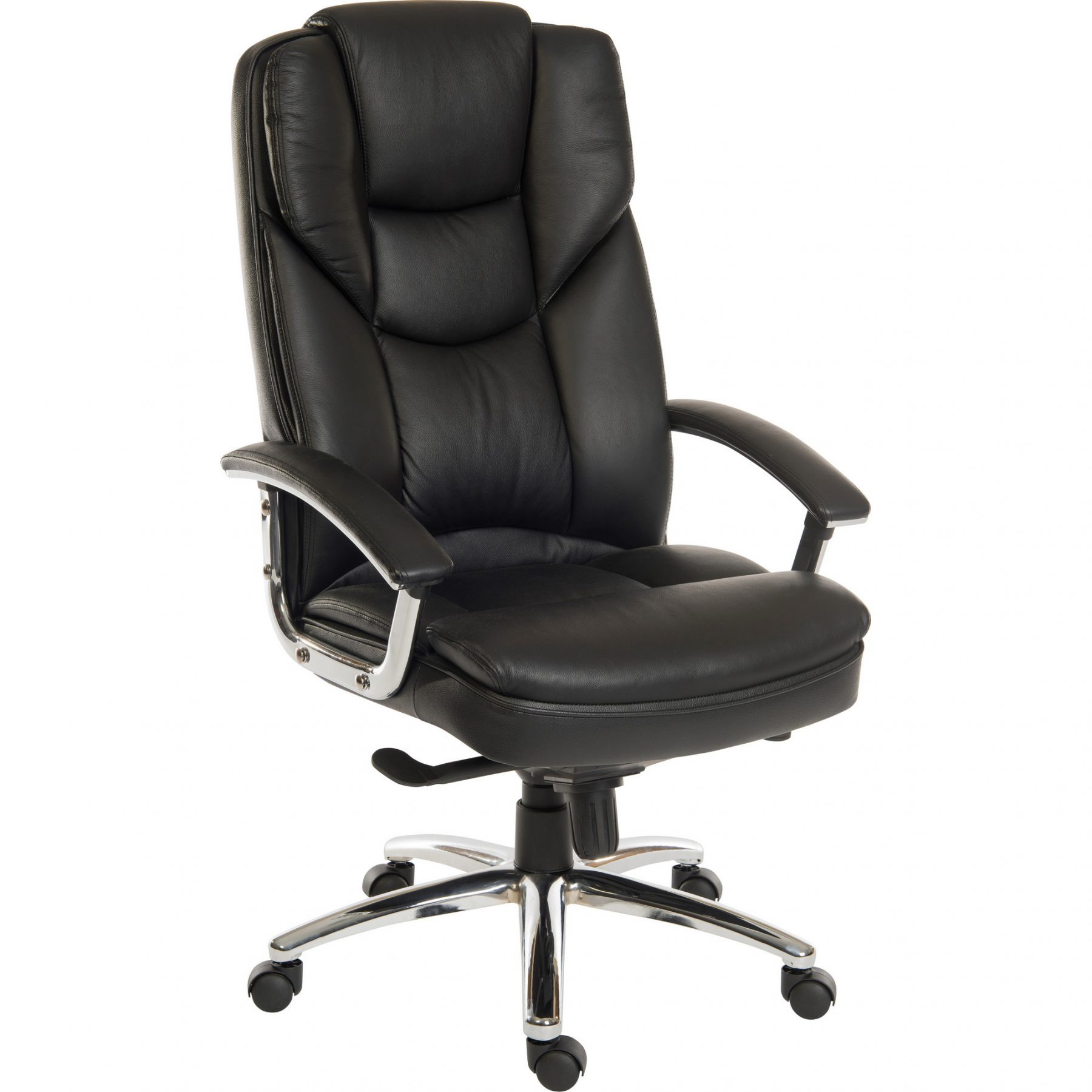 Leather Office Chairs Bromley Luxury Italian Leather Office Chair Black Home