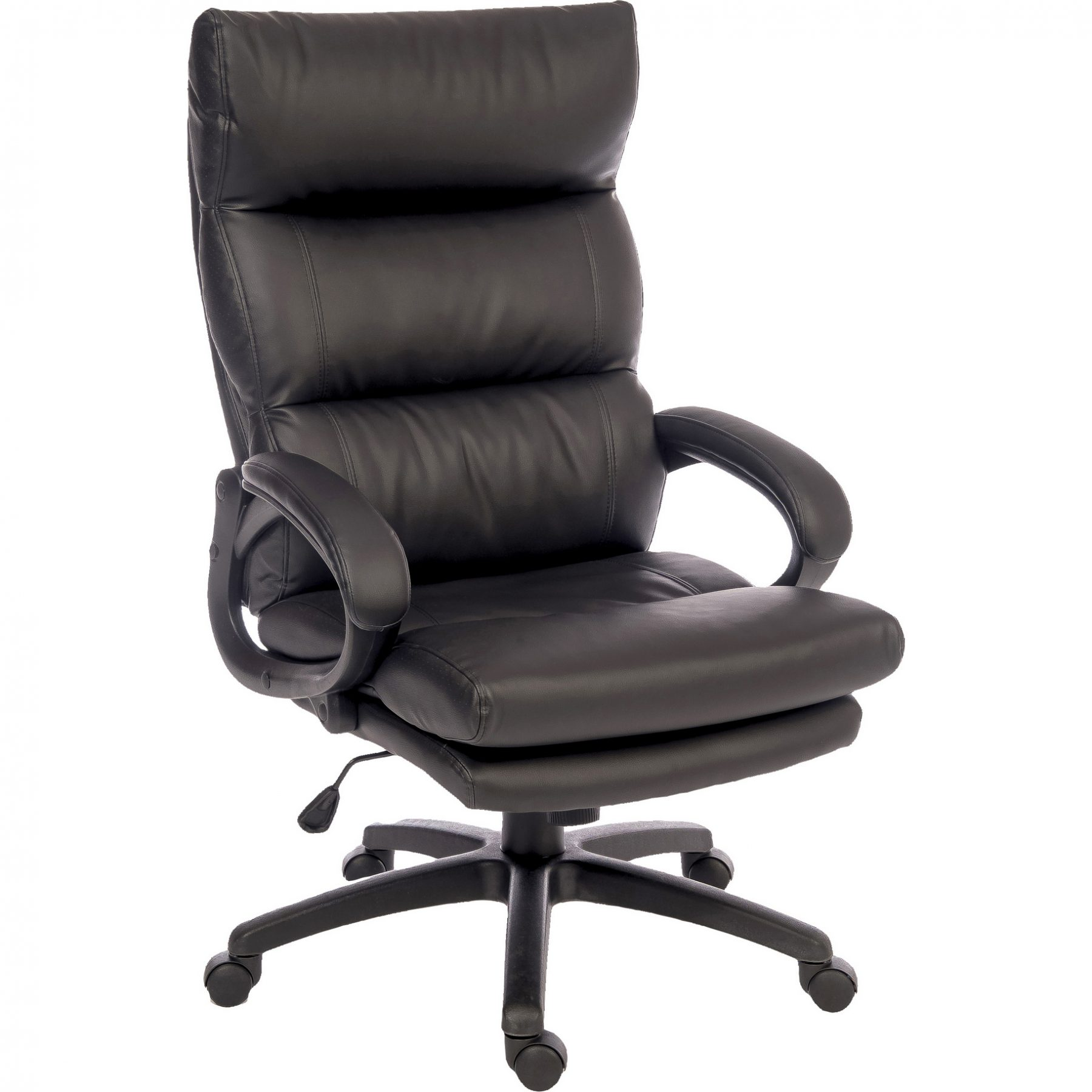 Luxury Office Chair Lincoln Luxury Black Office Chair Faux Leather Home