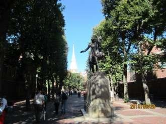 Statue of Paul Revere, Boston, Massachusetts