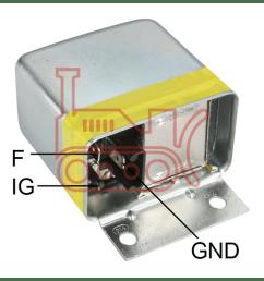 020403110 regulator bosch 12v 3 pin body mount external [ 1098 x 989 Pixel ]